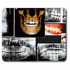 Computer Mouse Mat - 3D Dental X-Ray Dentist Office Gift #21052