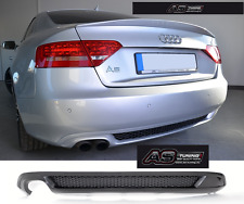 Diffusor / Heckdiffusor S-Line S5 Look AUDI A5 8T Coupe + Kleber + Gitter