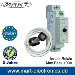 Dämmerungsschalter MART TS-41-2 230V Hutschiene Kabelsensor