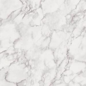 Marblesque Marmo Carta da Parati Bianco/Grigio - Fine Decor FD42274 Nuovo