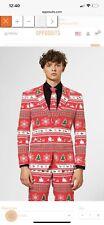 Opposuits Winter Wonderland Christmas 2 Piece Suit Mens Size US44