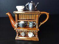 Paul Cardew Royal Albert Welsh Dresser Two Cup Teapot. Size Medium 10.4cm