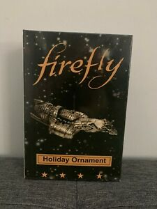 Firefly Serenity Ship Holiday Ornament Ripple Junction NEW