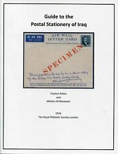 Guide to the Postal Stationery of IRAQ
