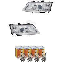 Scheinwerfer Set Saab 9-3 03-07 LWR mit Motor inkl. PHILIPS Lampen 4FN