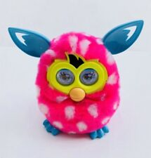 HASBRO FURBY BOOM PINK WHITE SPOTS RARE 2012 TOY LCD SOUNDS INTERACTIVE