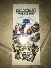Carowinds 1983 Vintage Brochure Charlotte NC Amusement Park