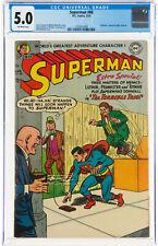 Superman #88 CGC 5.0 DC 1954 Lex Luthor Prankster Toyman! Clean Cover L11 129 cm