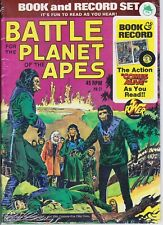 More details for 1973 battle for planet of the apes -book and record mint still sealed