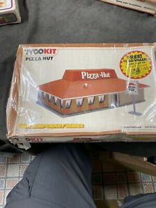 Vintage Tyco Ho Scale Model Trains Train Building Kit Pizza Hut New