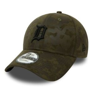 New Era Detroit Tigers Suede Camouflage 9FORTY Cap Official New One Size