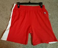 Champion Ladies Basketball/Active/Lounge shorts, Red, Sz. Md.