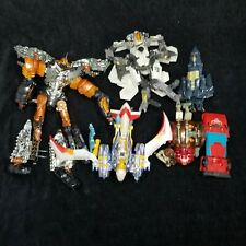 Lot Of Several Mixed BROKEN Hasbro Transformer Action Figures For Parts Only