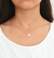 Opal Star Necklace White Opal Necklace Opal jewelry Gold Filled NEW Star Charm