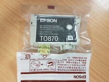 Epson Original Genuine T0870 Gloss Optimizer Ink Cartridge T870 Out of Box