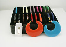 Kenneth Jay Lane Complete Wardrobe Hoop Earring Set (QVC #J19366 sold out)