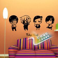 Tokyo Ghoul Kaneki Ken WALL STICKERS bedroom Bed Stickers Decal Cosplay