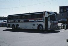 Eastern Bus Lines Silver Eagle bus Kodachrome original Kodak slide
