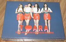 T-ARA WITH CHOPSTICKS BROTHERS Little Apple K-POP CD + DVD & FOLDED POSTER NEW