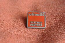 16272 PIN'S PINS INFORMATIQUE PC COMPUTER ORDINATEUR OLIVETTI SYSTEMS PARTNER