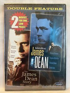 James Dean & The James Dean Story DVD Dennis hopper Michael Brandon BRAND NEW!