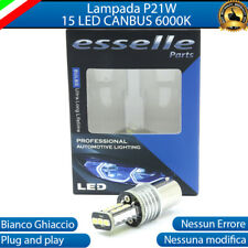 LAMPADA RETROMARCIA SINGOLA ALFA ROMEO 147 P21W BA15S 15 LED CANBUS 6000K