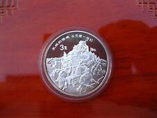 La Chine 3 yuan 1995 error coin Great Wall