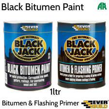 Everbuild Evb90105 Black Bitumen Paint 5 Litre 901