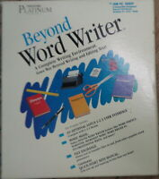 Beyond Word Writer, by Timeworks - 1988 - for IBM PC, Tandy & compatibles.