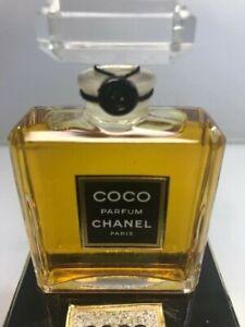 Coco Parfum Chanel pure parfum 30 ml. Rare, vintage. Crystal bottle. Sealed
