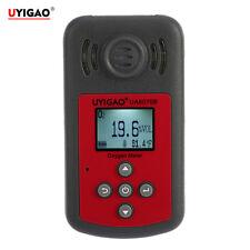 Tester Medidor de Oxígeno O2 Gas Tester Monitor Detector & LCD Alarma Luz Sonido
