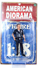 AMERICAN DIORAMA POLICE OFFICER FIGURE 1/18 AD-23840 HARRY
