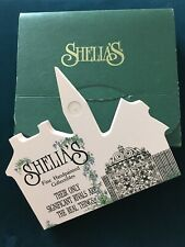 Sheila's Wooden House Fine Hand Painted Collectibles Series Sign