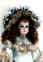 ANTIQUE REPRODUCTION JUMEAU 28 IN TORY PATRICIA LOVELESS PROCELAIN DOLL NEW