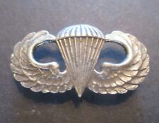 OLD STYLE U.S. ARMY STERLING JUMP WINGS. AIRBORNE. G-1