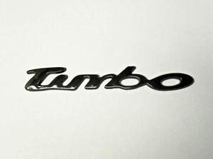 Volkswagen 3D Turbo Emblem Black  logo sticker decal GTI VW SUPRA WRX JDM New