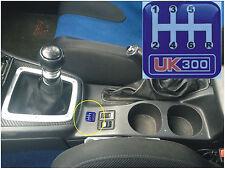 UK300 CENTRE CONSOLE GEAR BOX SHIFTER BADGE 6 SPEED GEAR STICK