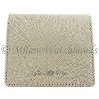 Glam Rock High Quality Sandstone Genuine Saffiano Leather Coin Holder