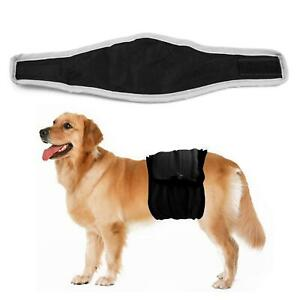 Male Dog Puppy Belly Wrap Band Nappy Diaper Sanitary Holder Pants Underpants