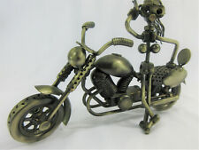 Scrap Metal Motorcycle Female Nuts & Bolts Riding Art Biker Décor Original