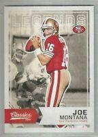 Joe Montana San Francisco 49ers 2016 Classics