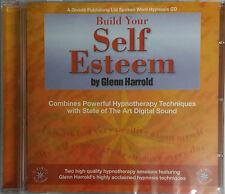 BUILD YOUR SELF ESTEEM - GLENN HARROLD  AUDIO HYPNOSIS CD NEW SEALED