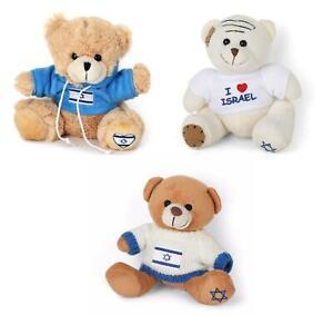 Cute and cuddly Teddy Bear I love Israel T- Shirt Sweatshirt Plush souvenir