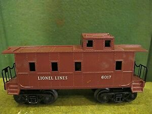 Lionel 6017 Lionel Lines Tuscan brown  caboose