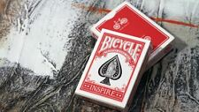 Bicycle Inspire | Red | Playing Cards | Poker Deck | Collectable