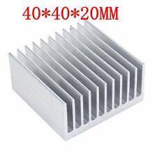 Aluminum Heat Sink IC Heatsink Cooling Fin For CPU LED Power 40mm x 40mm x 20mm