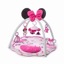 Disney Baby Minnie Mouse Garden Fun Activity Gym Play Mat Melodies Ages Newborn