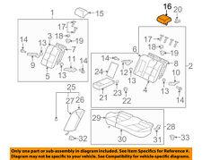 MITSUBISHI OEM 08-15 Lancer Rear Seat-Headrest, Center 6971A069XA