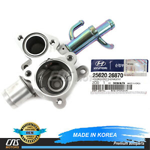 GENUINE Thermostat Housing for 2006-2010 Hyundai Accent OEM 2562026870