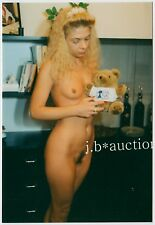"Hungary nude woman W ""que Posta BANK"" Teddy Bear/nue M NOUNOURS * 80 S photo"